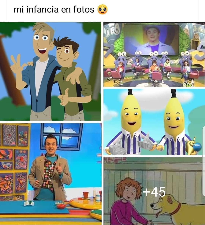 Mi infancia en fotos.