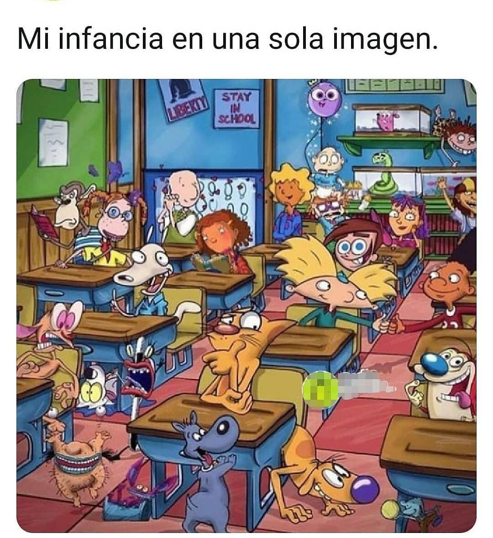 Mi infancia en una sola imagen.