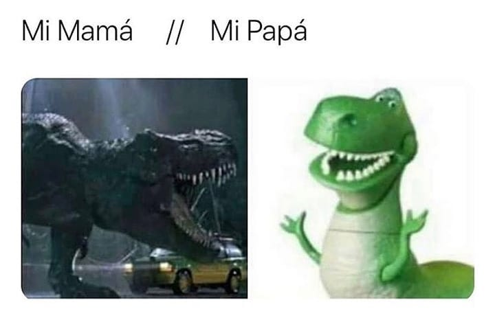 Mi Mamá. // Mi Papá.