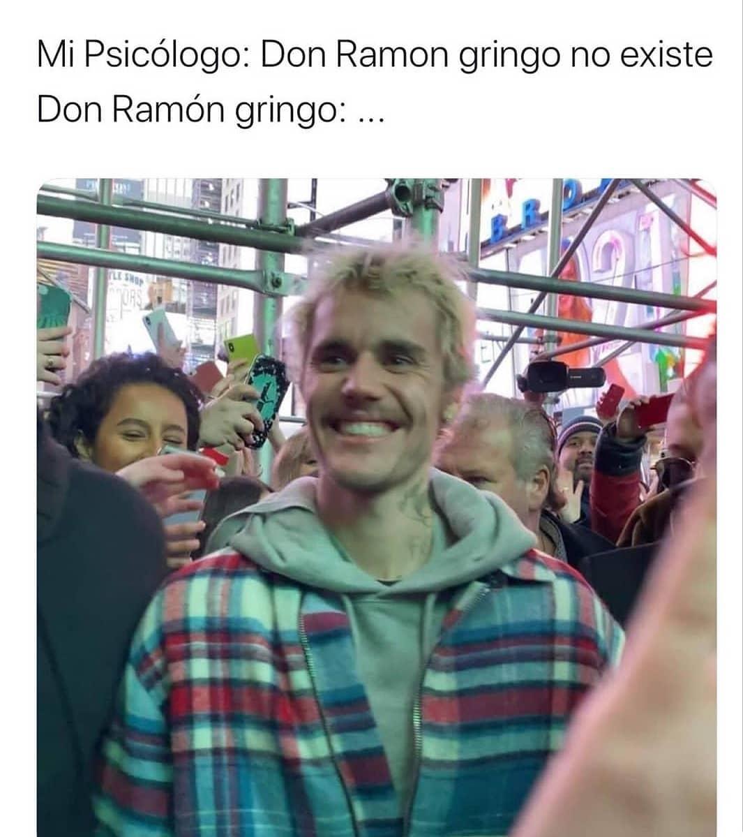 Mi Psicólogo: Don Ramon gringo no existe. Don Ramón gringo.