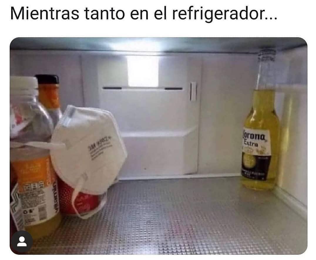 Mientras tanto en el refrigerador...