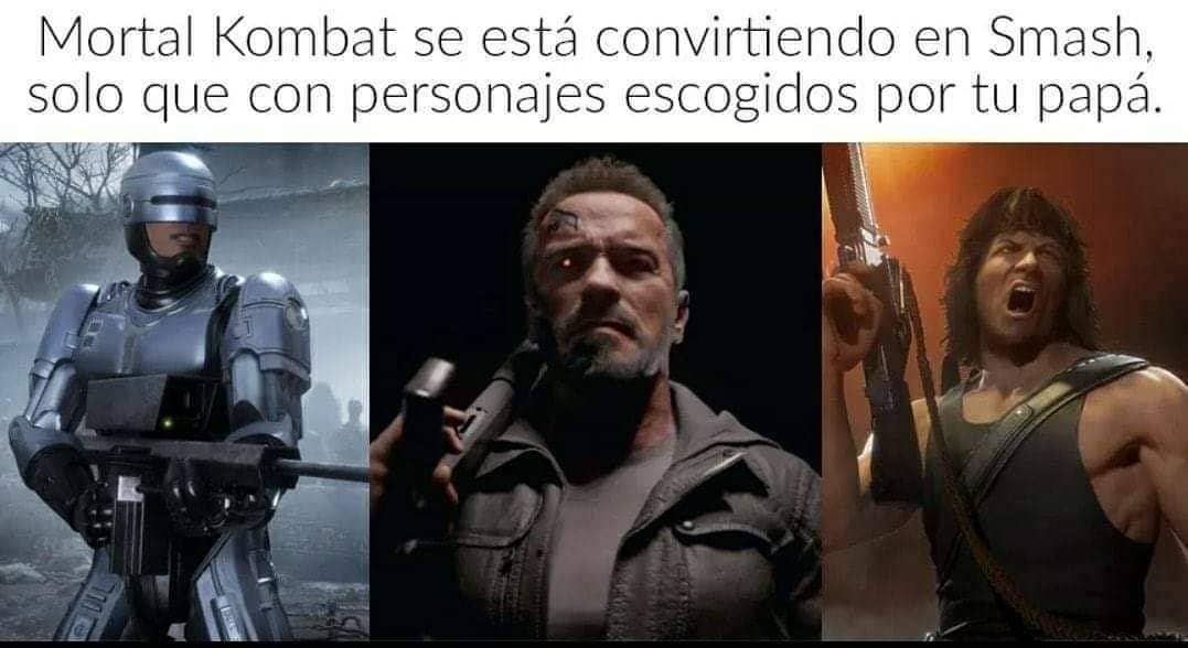 Mortal Kombat se está convirtiendo en Smash, solo que con personajes escogidos por tu papá.