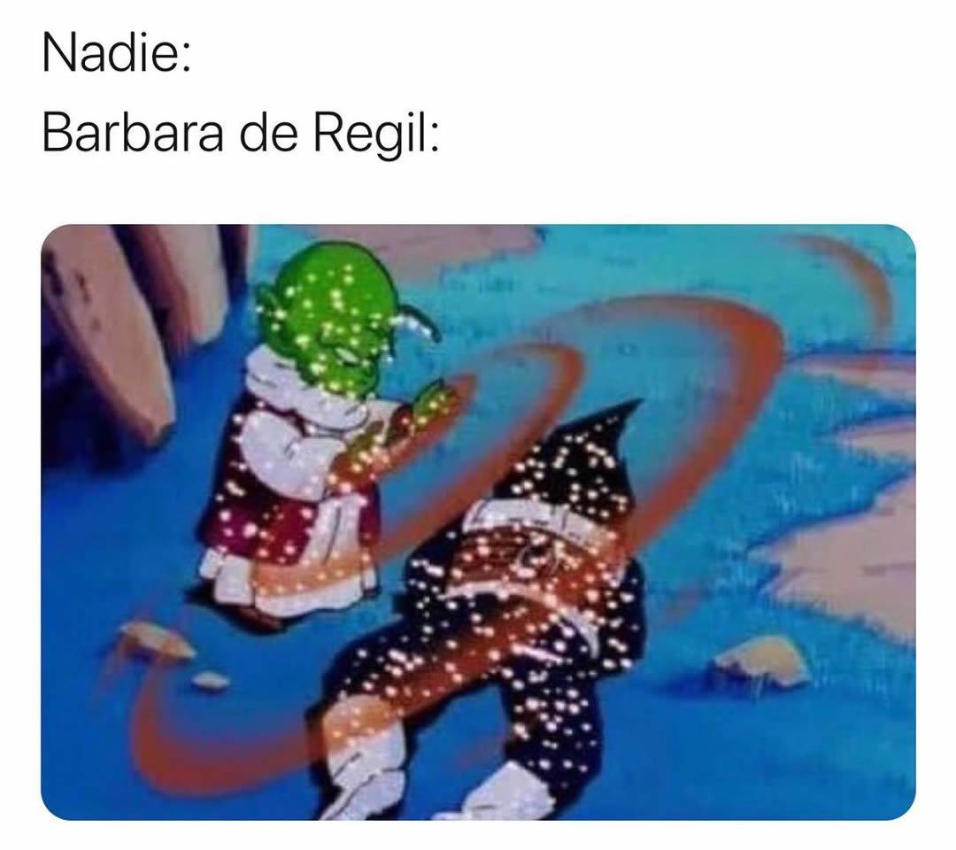 Nadie:  Barbara de Regil: