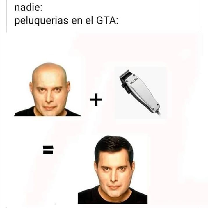 Nadie:  Peluquerias en el GTA:
