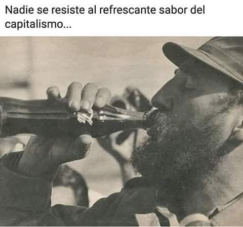 Nadie se resiste al refrescante sabor del capitalismo...