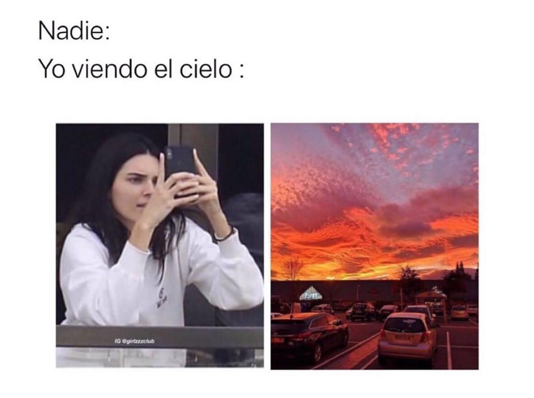 Nadie: Yo viendo el cielo: