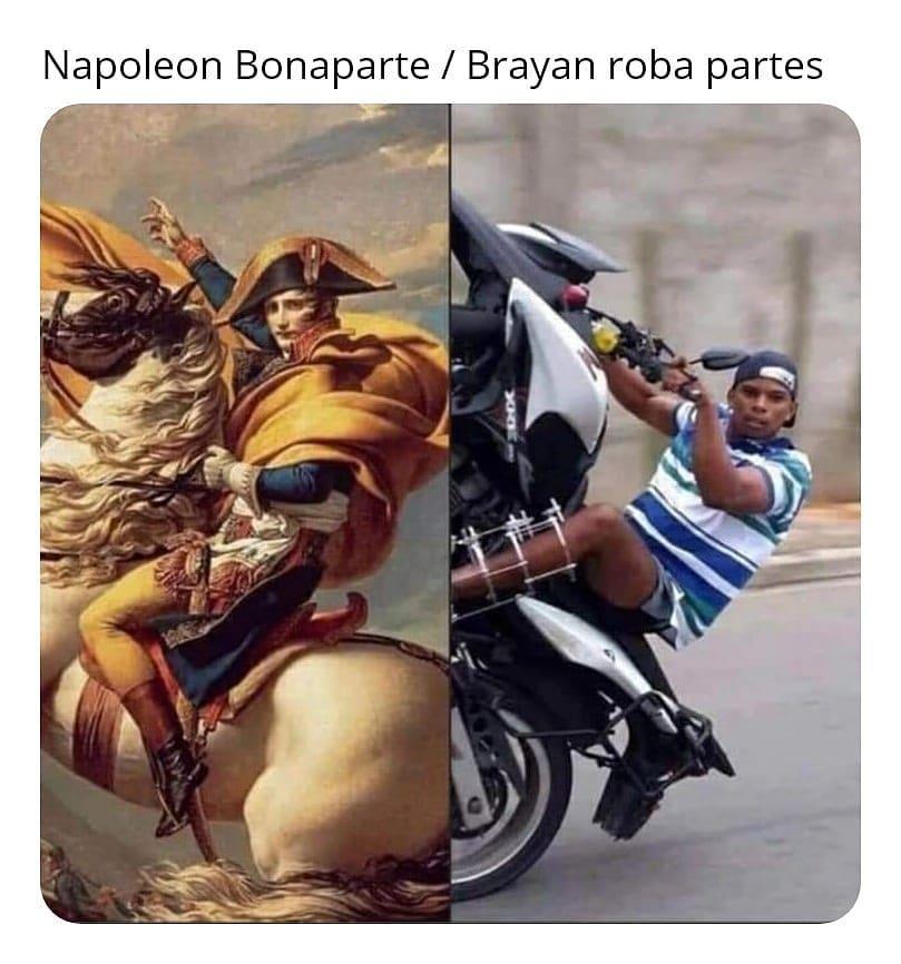 Napoleon Bonaparte. / Brayan roba partes.
