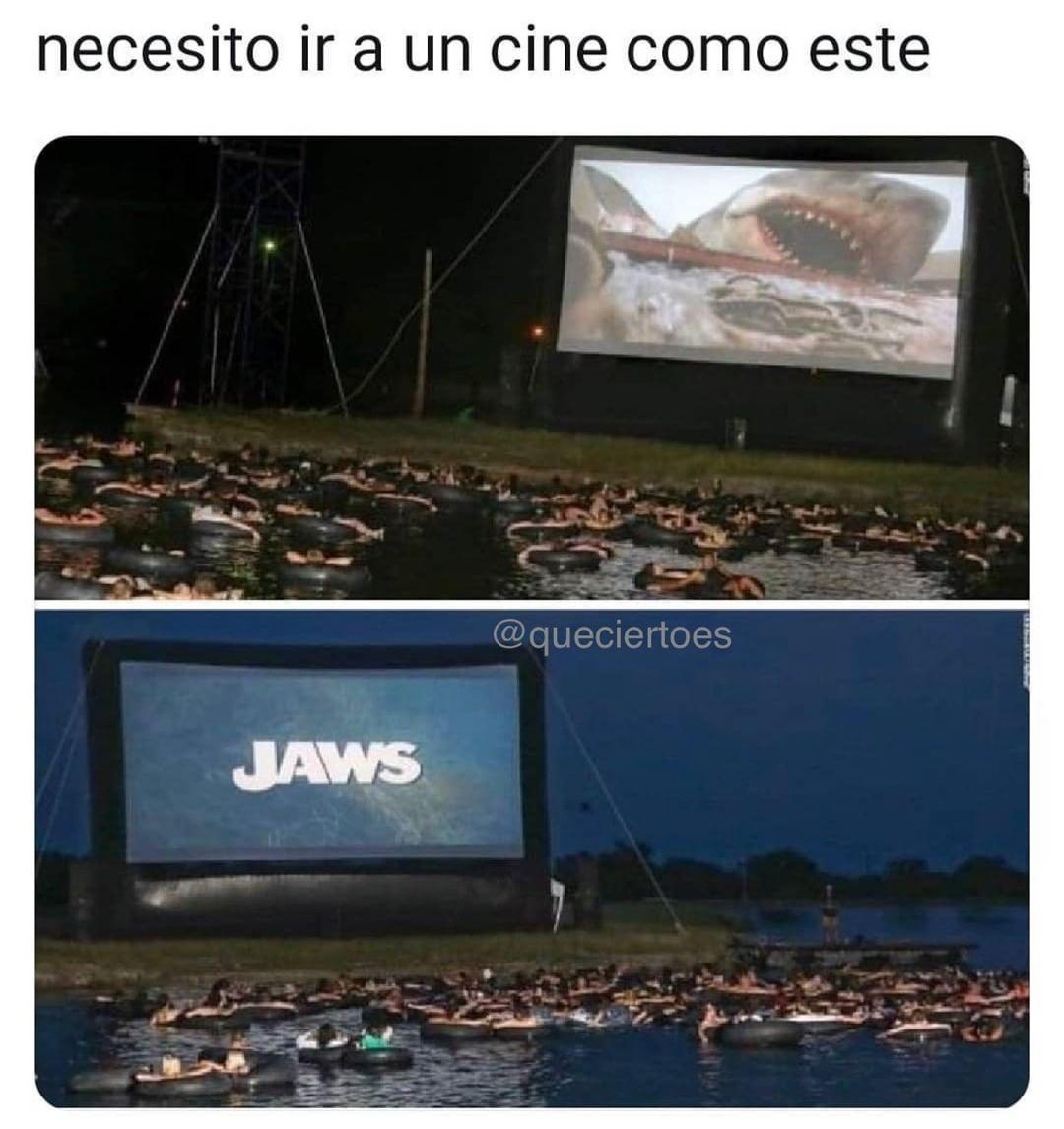 Necesito ir a un cine como este.