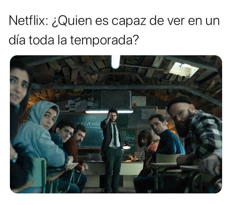 Netflix: ¿Quién es capaz de ver en un día toda la temporada?