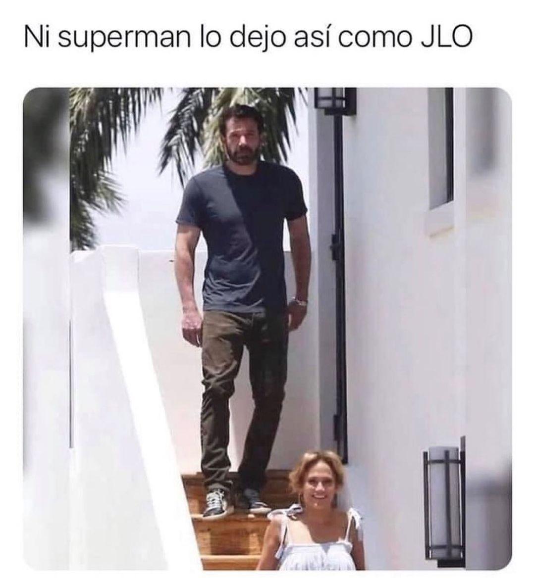 Ni superman lo dejo así como JLO.