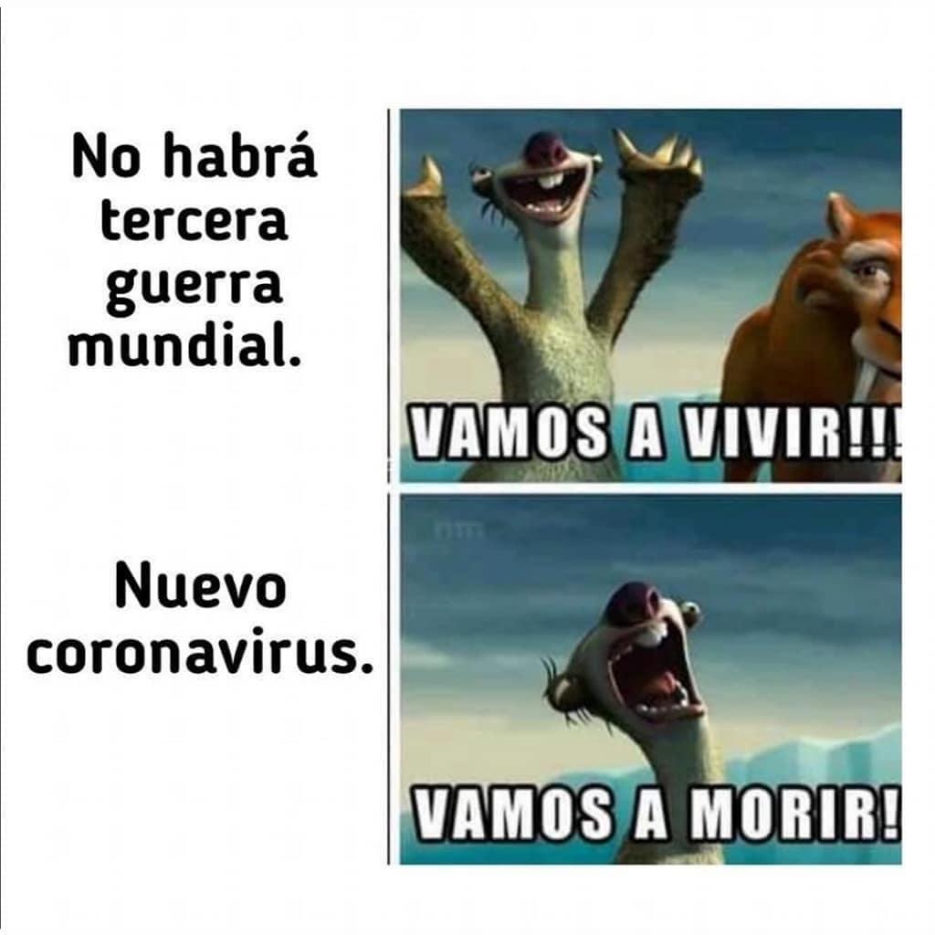 No habrá tercera guerra mundial. Vamos a vivir!!!  Nuevo coronavirus. Vamos a morir!