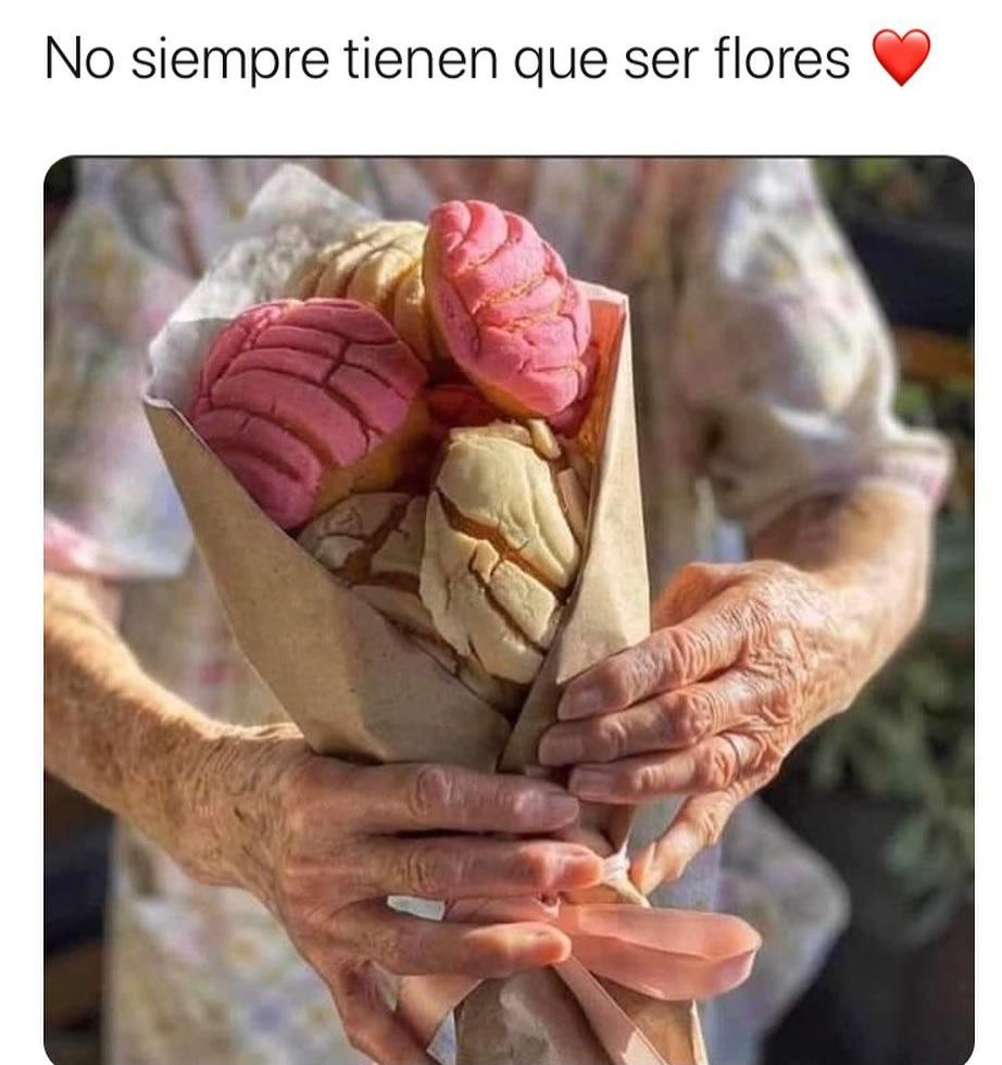 No siempre tienen que ser flores.
