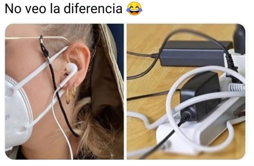 No veo la diferencia.