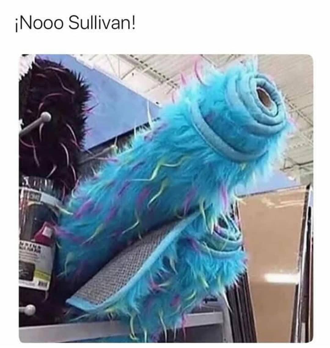 ¡Nooo Sullivan!