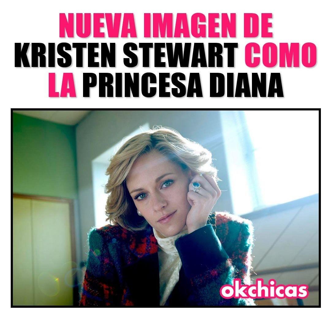 Nueva imagen de Kristen Stewart como la princesa Diana.