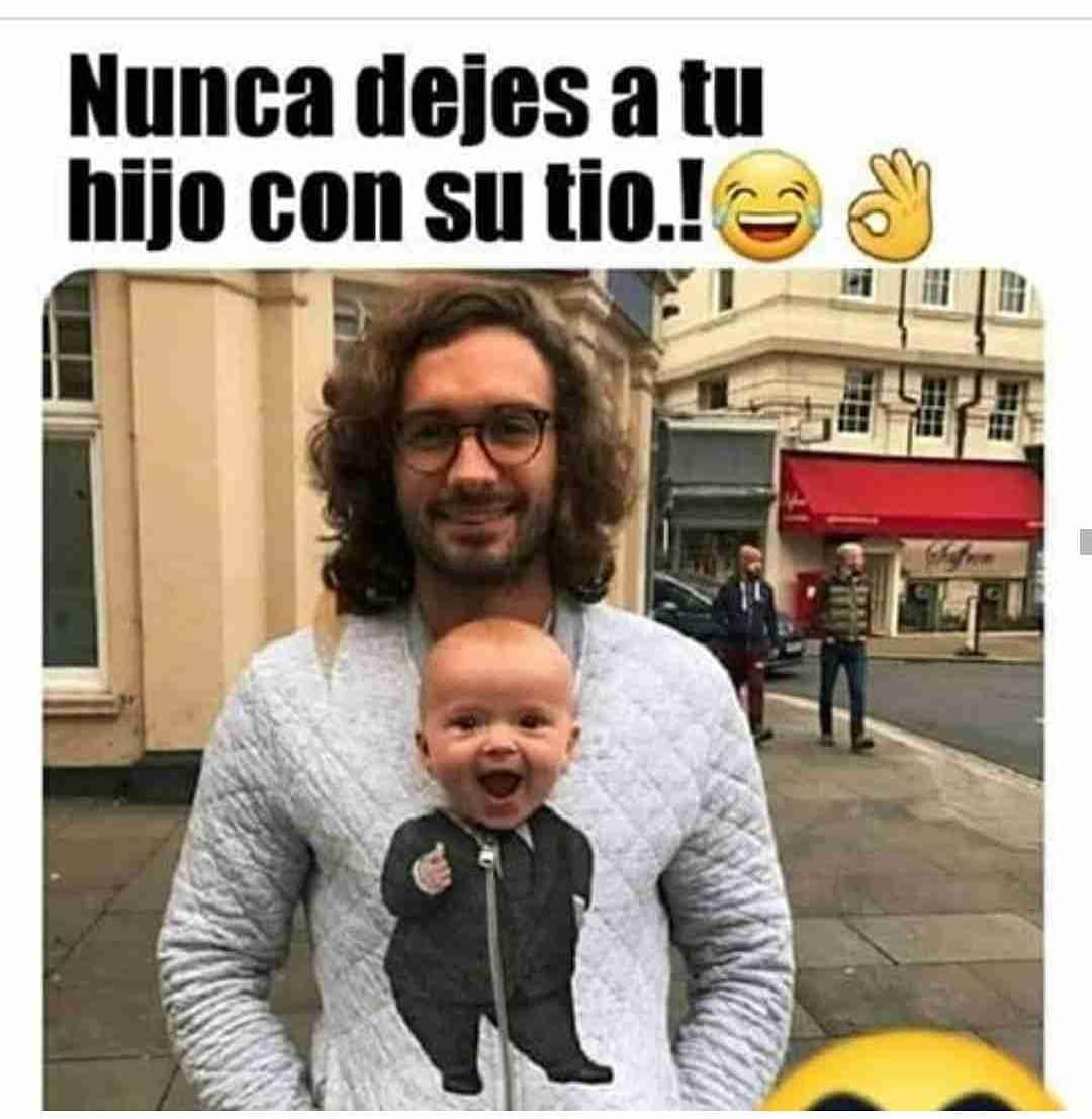 Nunca dejes a tu hijo con su tío!