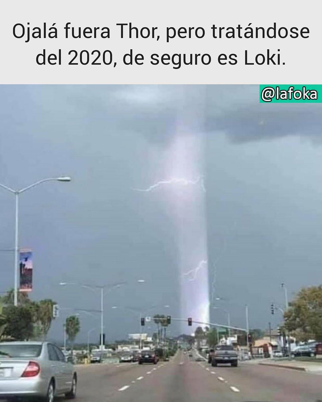Ojalá fuera Thor, pero tratándose del 2020, de seguro es Loki.