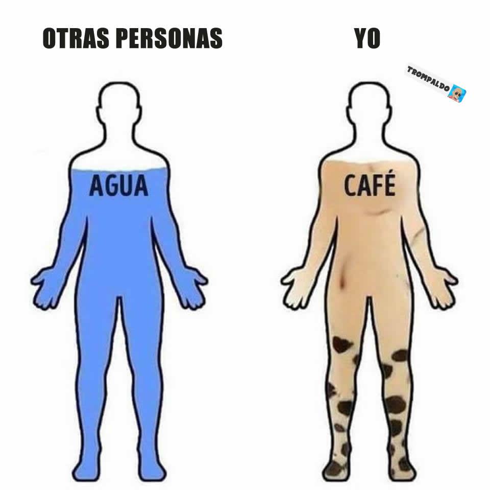 Otras personas. / Yo.
