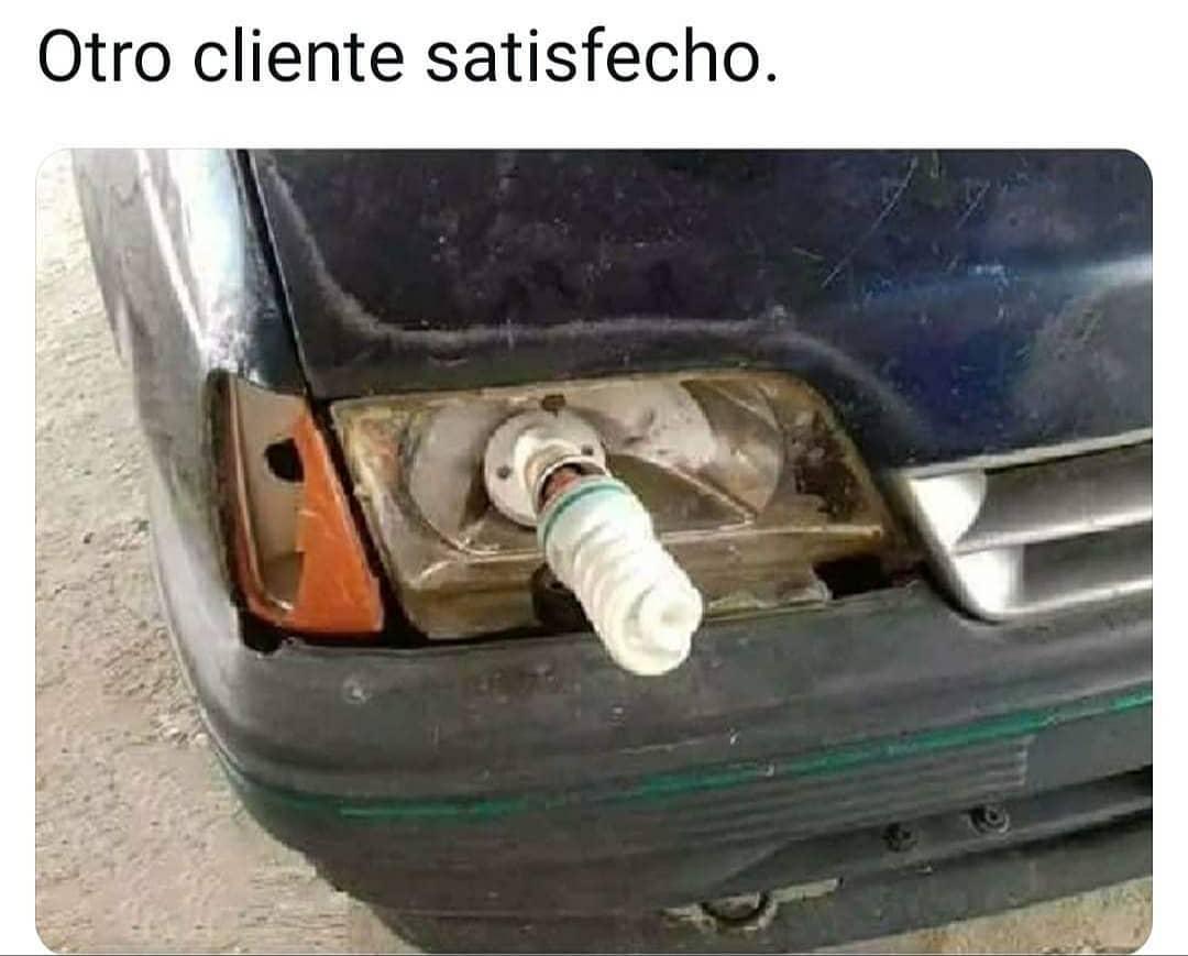 Otro cliente satisfecho.