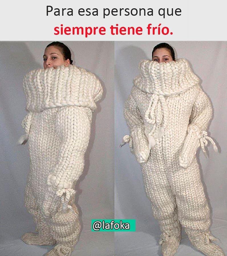 Para esa persona que siempre tiene frío.