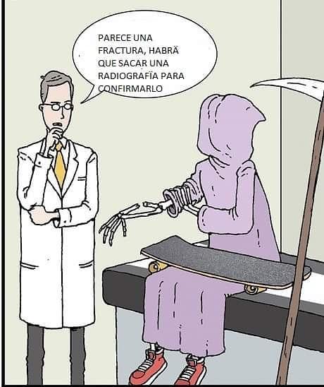 Parece una fractura, habrá que sacar una radiografía para confirmarlo.
