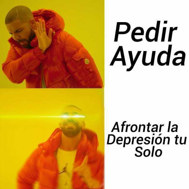 Pedir Ayuda. / Afrontar la Depresión tu Solo.