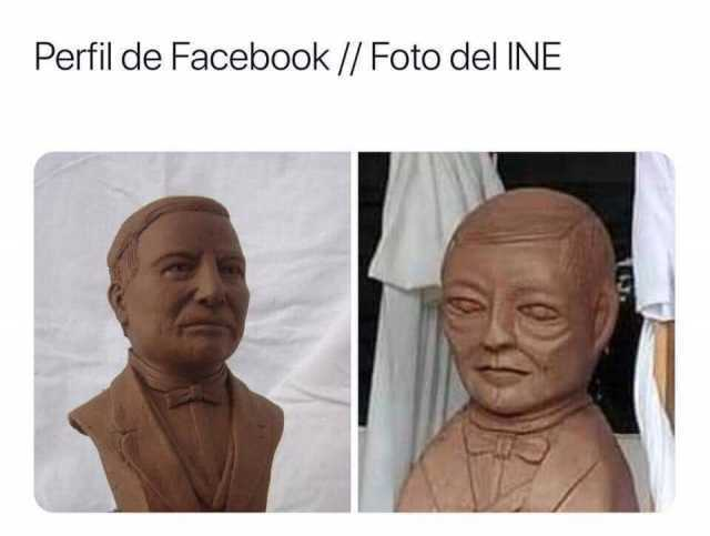 Perfil de Facebook. // Foto del INE.