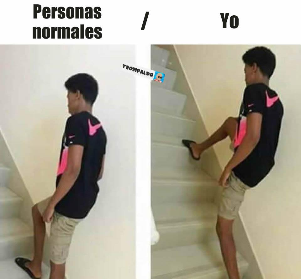 Personas normales. / Yo.