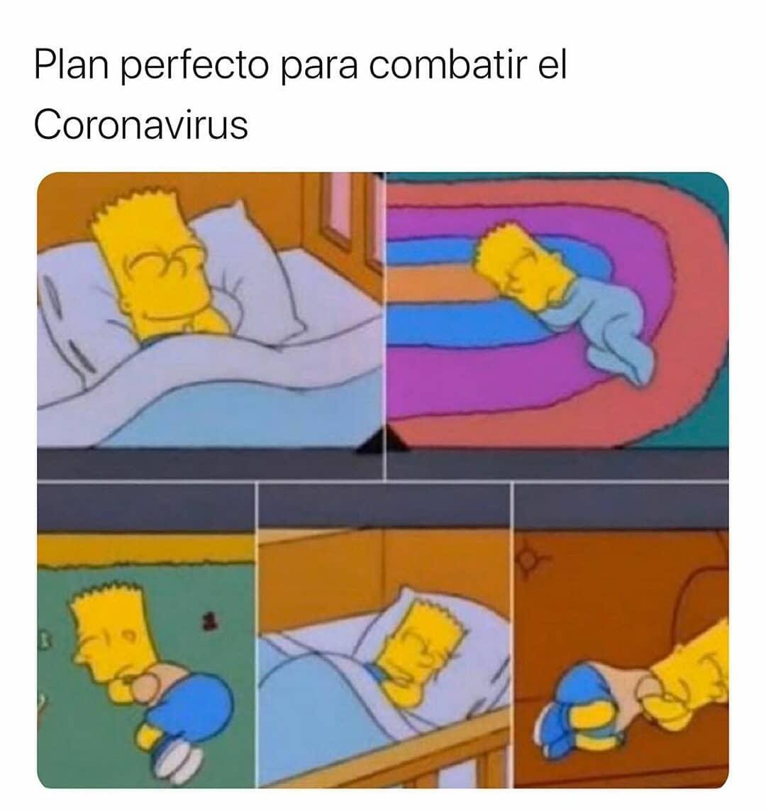 Plan perfecto para combatir el Coronavirus.
