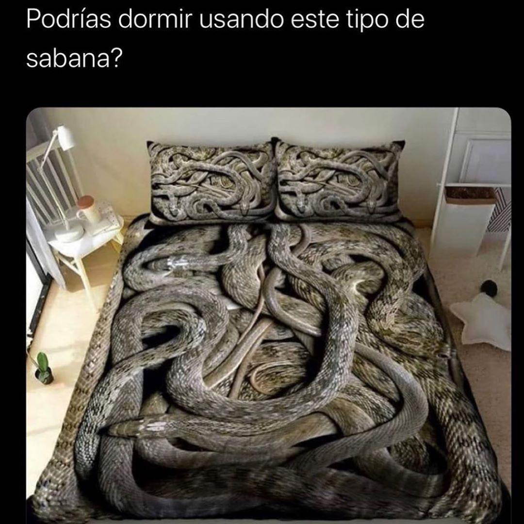 Podrías dormir usando este tipo de sábana?