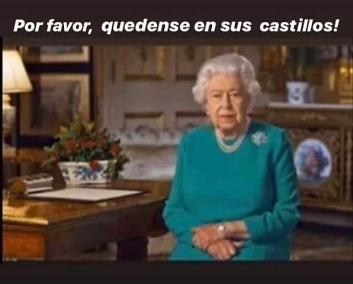 Por favor, quedense en sus castillos!