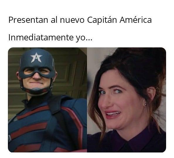 Presentan al nuevo Capitán América.  Inmediatamente yo...