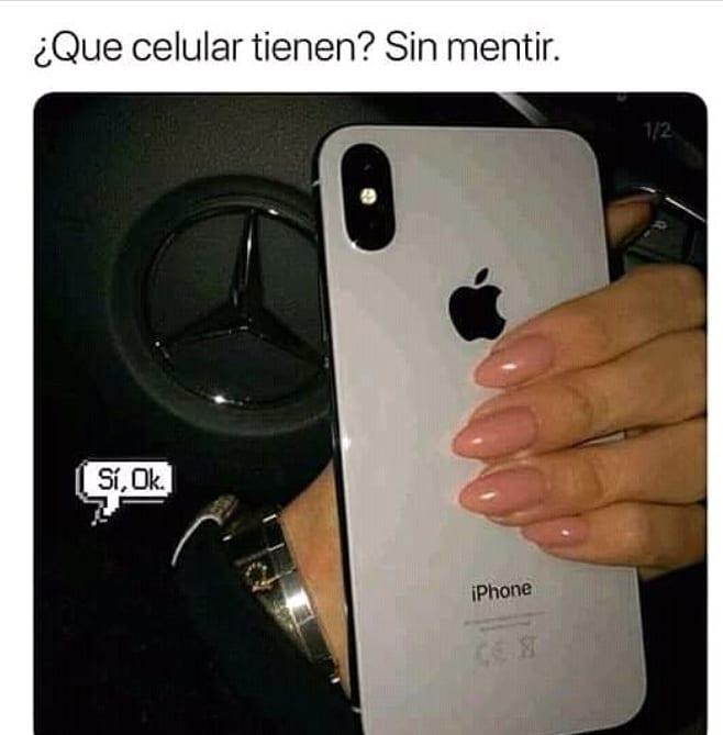 ¿Qué celular tienen? Sin mentir.