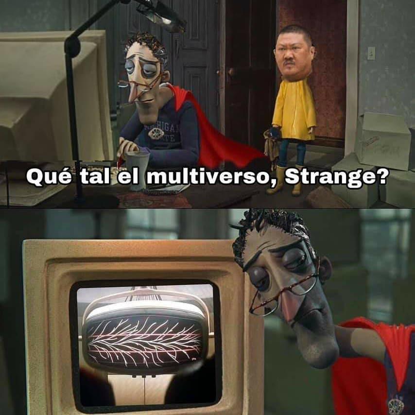 Qué tal el multiverso, Strange?