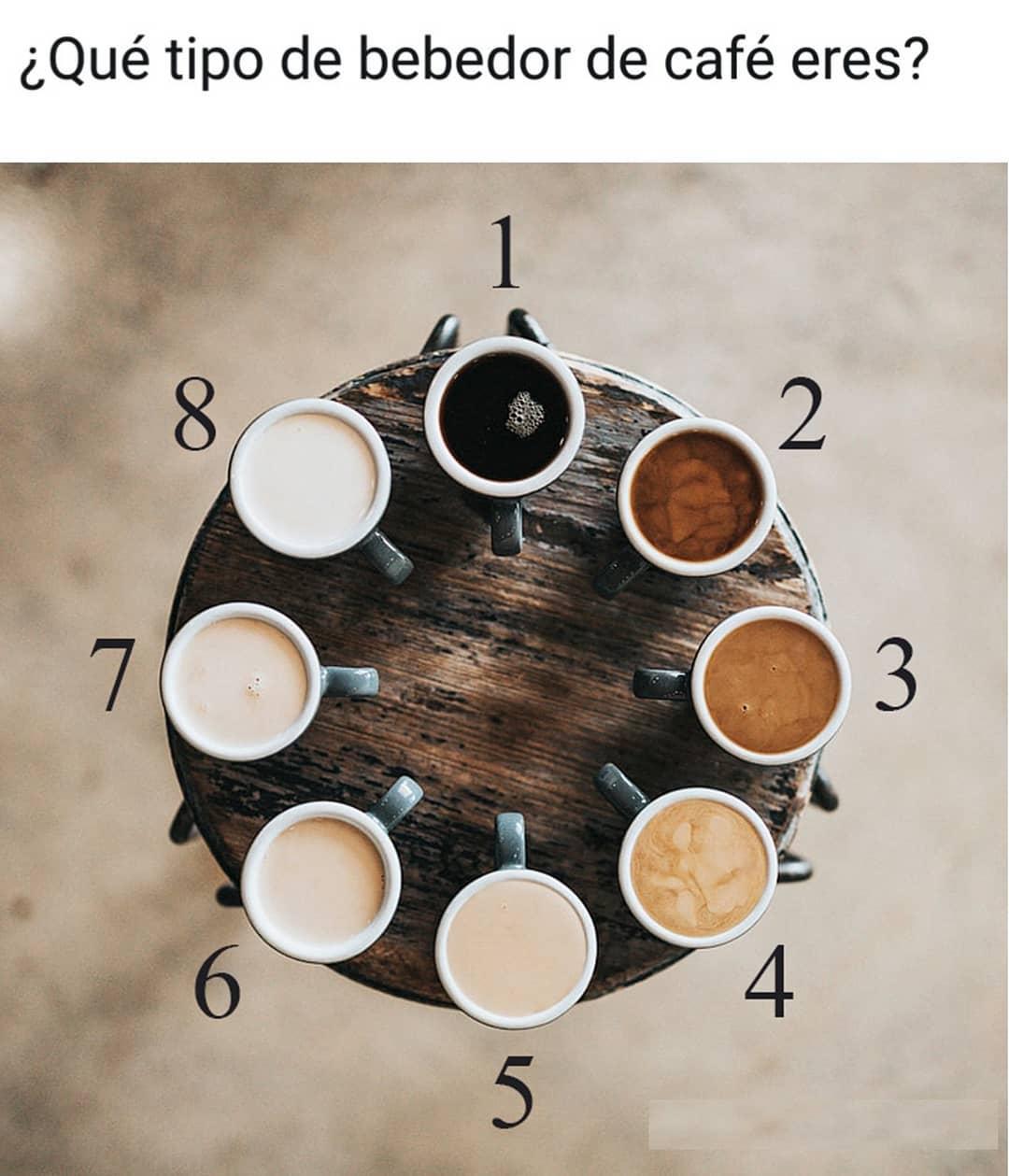 ¿Qué tipo de bebedor de café eres?