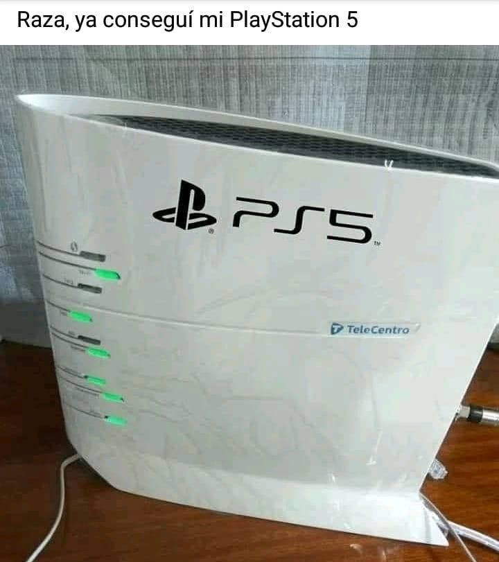 Raza, ya conseguí mi PlayStation 5.