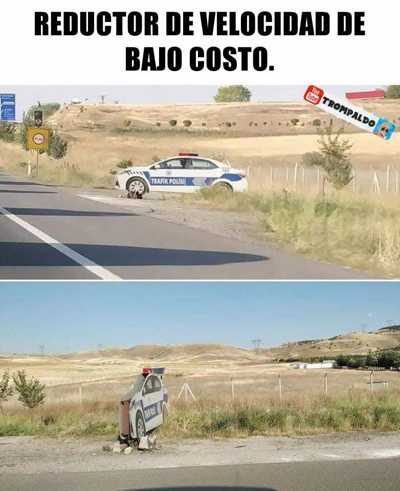 Reductor de velocidad de bajo costo.