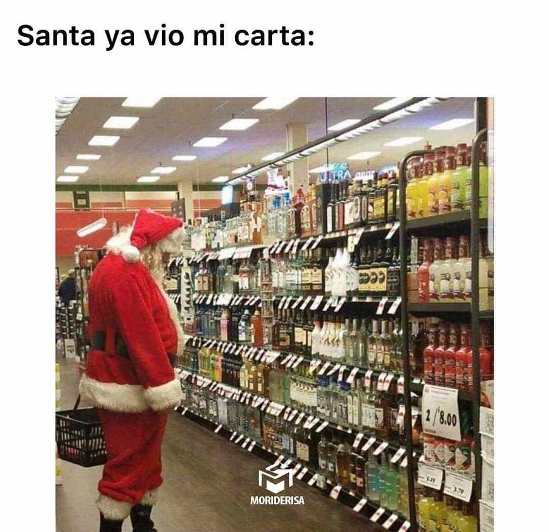 Santa ya vio mi carta.