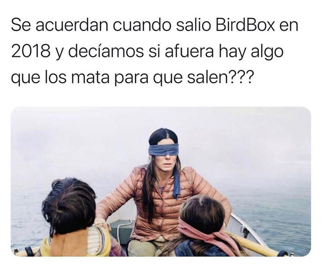 Se acuerdan cuando salio BirdBox en 2018 y decíamos si afuera hay algo que los mata para que salen???