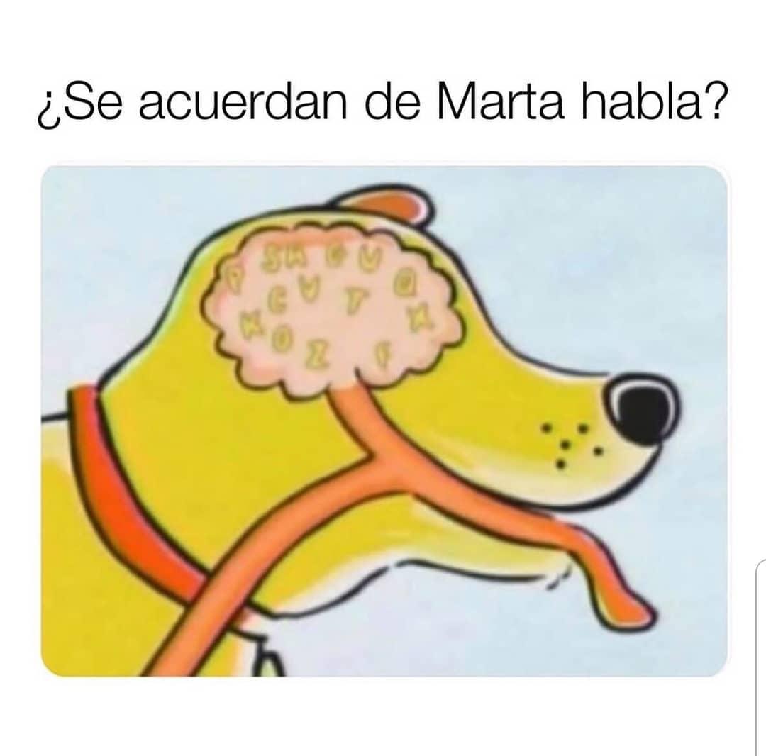 ¿Se acuerdan de Marta habla?