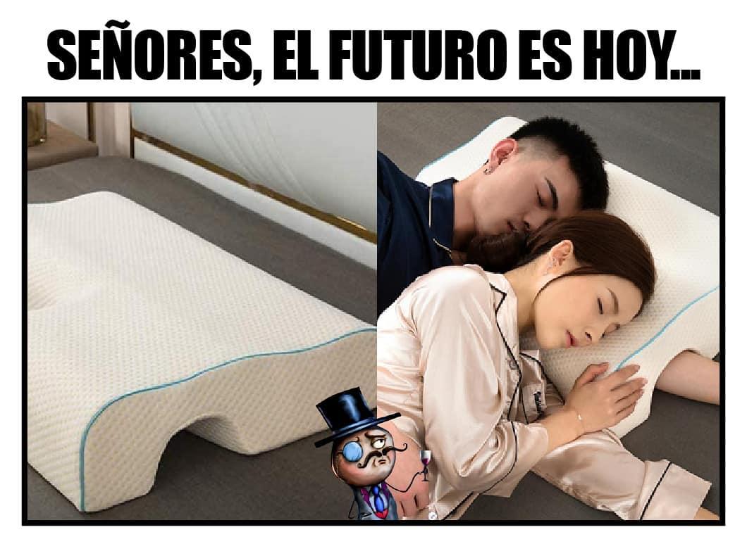 Señores, el futuro es hoy.