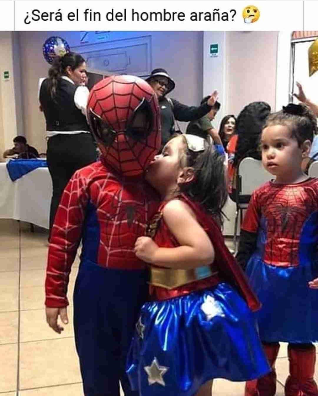 ¿Será el fin del hombre araña?