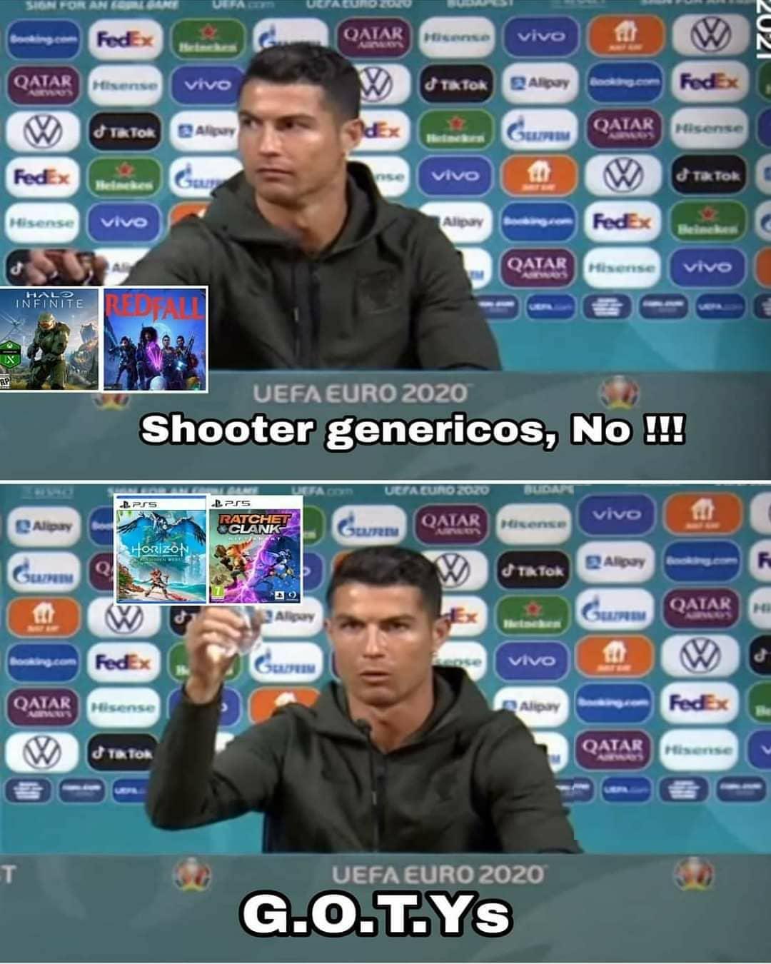 Shooter genéricos, no!!! G.O.T.Ys.