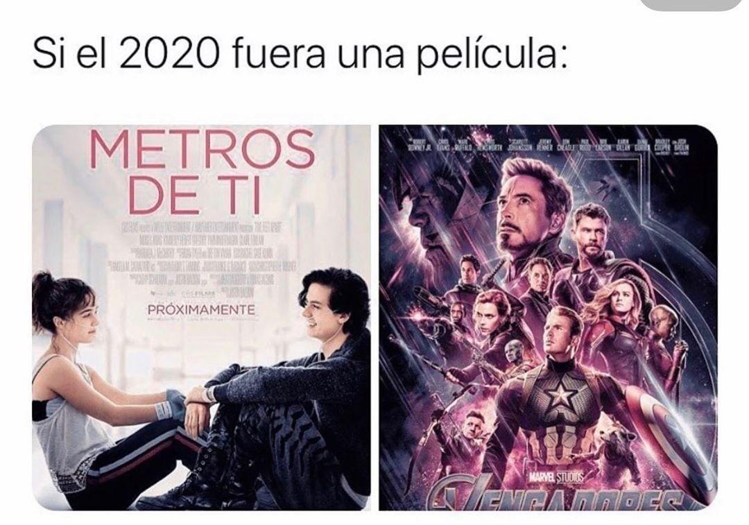 Si el 2020 fuera una película: