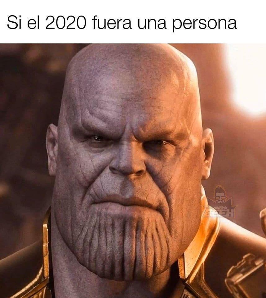 Si el 2020 fuera una persona.