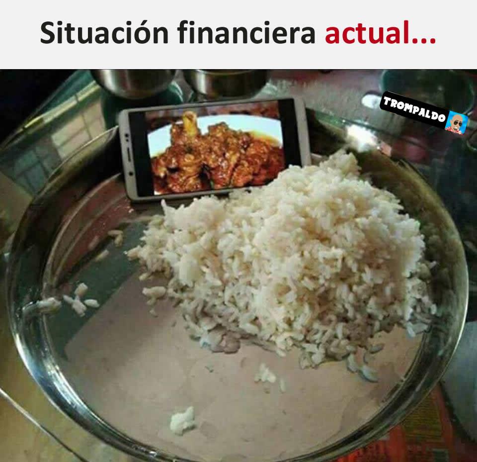 Situación financiera actual...