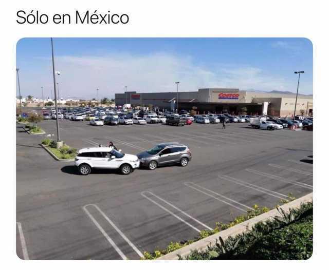 Solo en México.