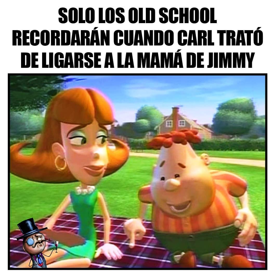 Solo los old school recordarán cuando Carla trató de ligarse a la mamá de Jimmy.