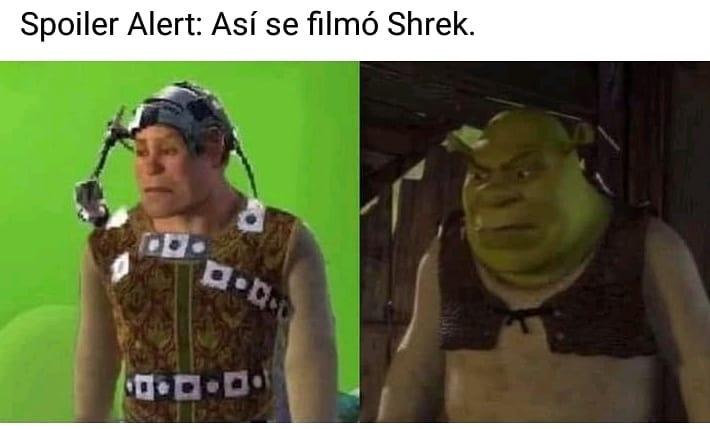 Spoiler Alert: Así se filmó Shrek.