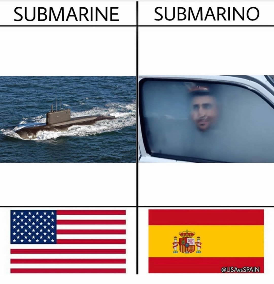 Submarine. / Submarino.